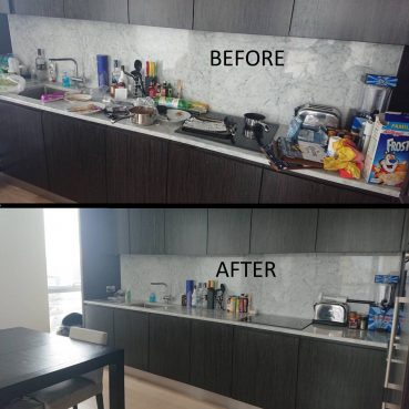 , Kitchen cleaning