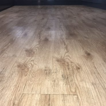 , Wooden floor after cleaning